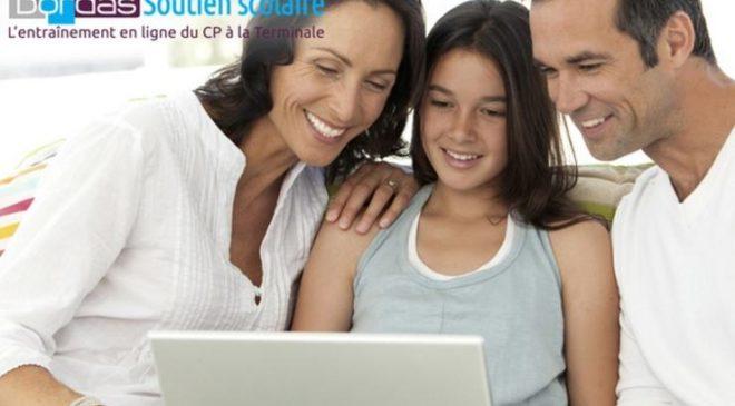 Soutien scolaire Bordas en ligne à partir de 15€ les 3 mois en illimité