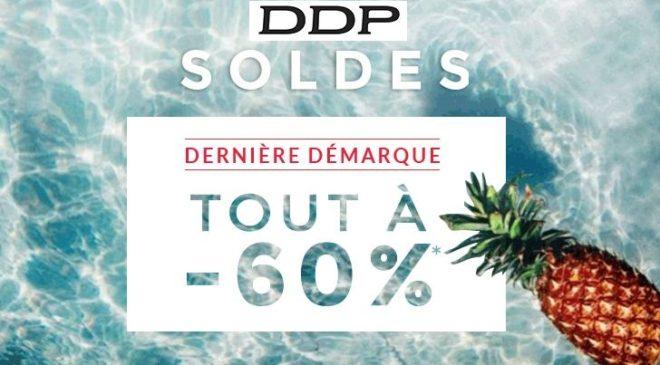 Tous les soldes DDP dernière démarque