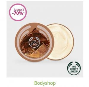 Vente privée Body Shop sur Limango