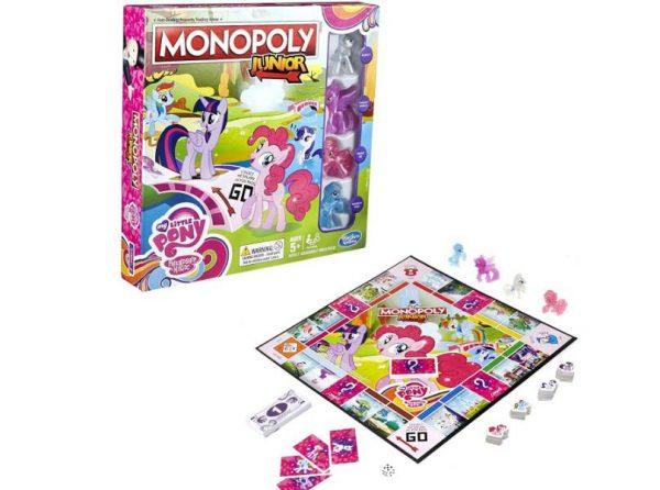 jeu Monopoly Junior My Little Pony moitié prix