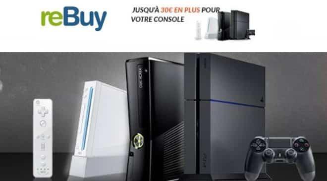 revendez votre console plus chère sur reBuy