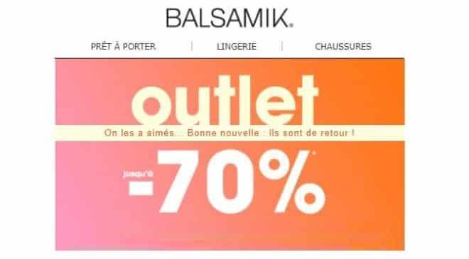 vente Outlet Balsamik