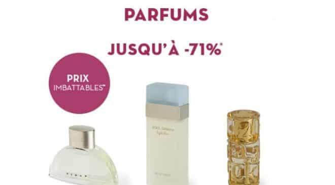 vente privée Parfum