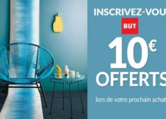 10€ offerts à partir de 50€ sur BUT (en ligne ou magasin)