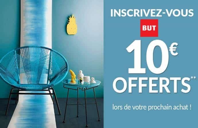 10€ offerts offert sur BUT