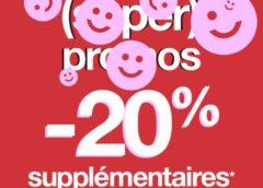 20% supplémentaire sur les (Super) promos Jennyfer dès 2 articles achetés