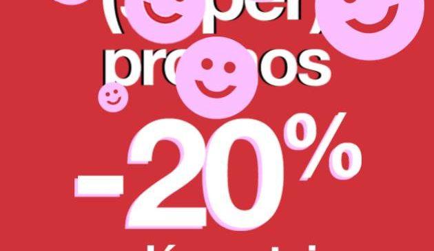20% supplémentaire sur les (Super) promos Jennyfer