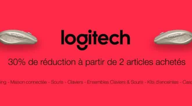 30% de remise immediate sur Logitech