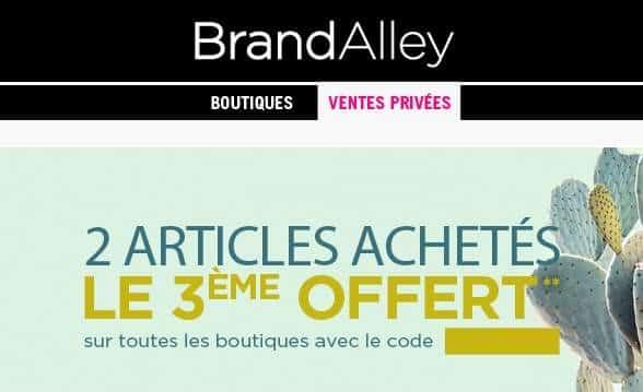 3éme article gratuit sur Brandalley