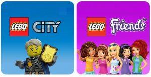 Remise de 5€ sur Lego City et Lego Friends