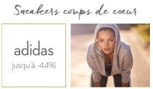 67 modèles de baskets Adidas à -44%
