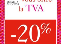 Beauty Success offre la TVA jusqu'à dimanche (-20% sur vos achats)