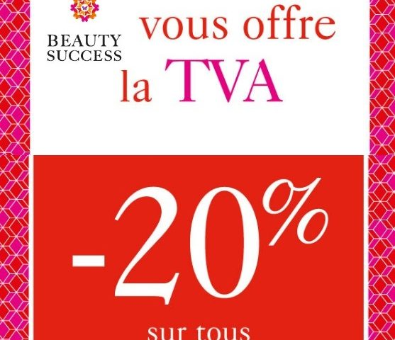 Beauty Success offre la TVA