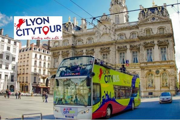 billet visite lyon city bus pas cher d s 5 le billet valable 24h. Black Bedroom Furniture Sets. Home Design Ideas