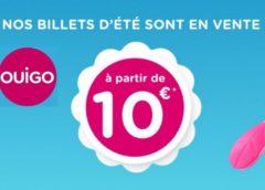 Ouverture des ventes d'été OUIGO 🚅! Billet TGV à 10 euros  (5€ pour les enfants)