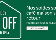 Boutique Starbucks : 20% de remise sur les cafés (moulus, capsules, grains)  ☕