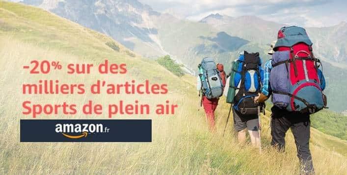 CODE PROMO REMISE Plein Air Amazon