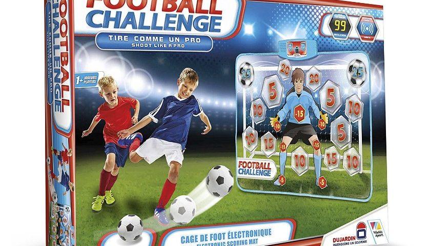 Cage électronique Football Challenge de Dujardin moitié prix