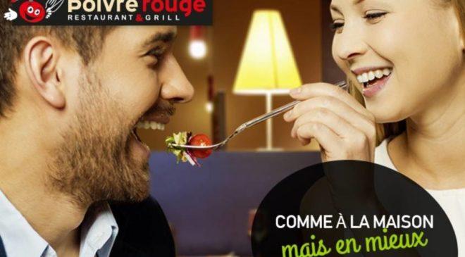 Coupon reduction Poivre Rouge