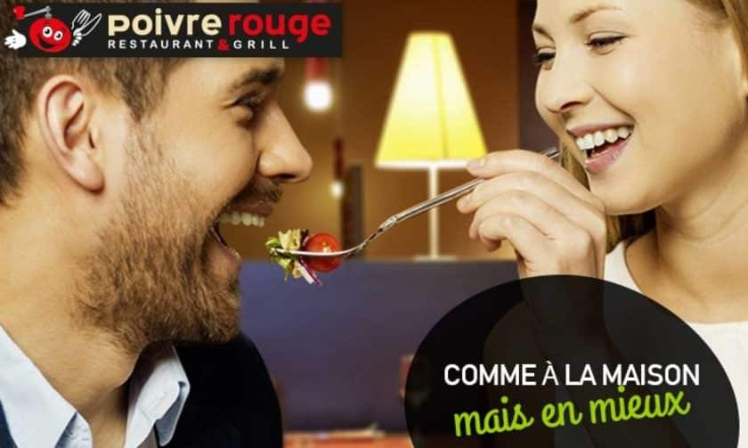 Coupon reduction Poivre Rouge