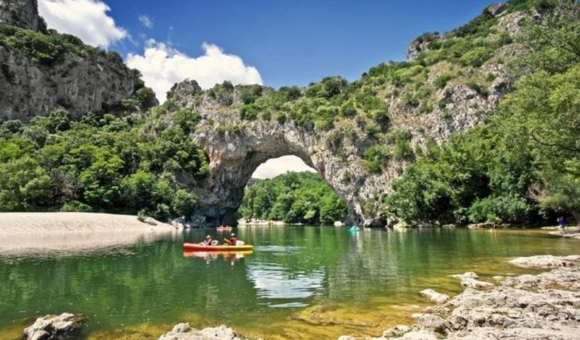 Descente en canoë de l'Ardèche pas chère