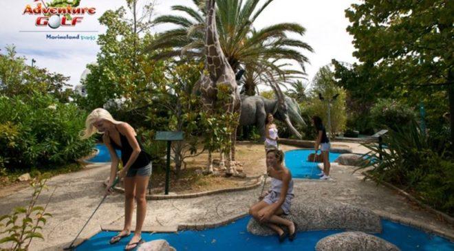 Entrée Adventure Golf pas chère - Antibes Marineland