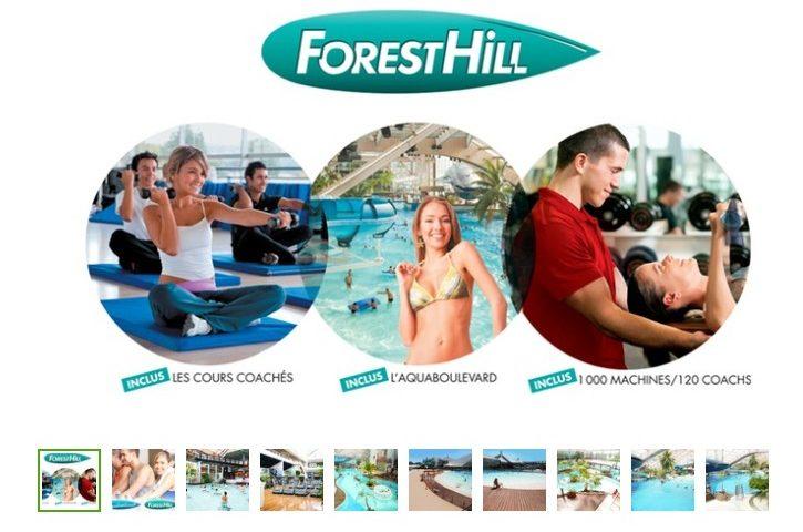 Forest Hill + Aquaboulevard pass illimités pas cher