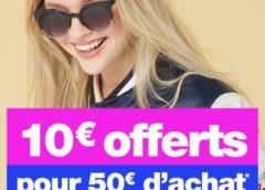 Jennyfer : 50€ d'achats = 10€ de remises immédiates (cumulable promo)