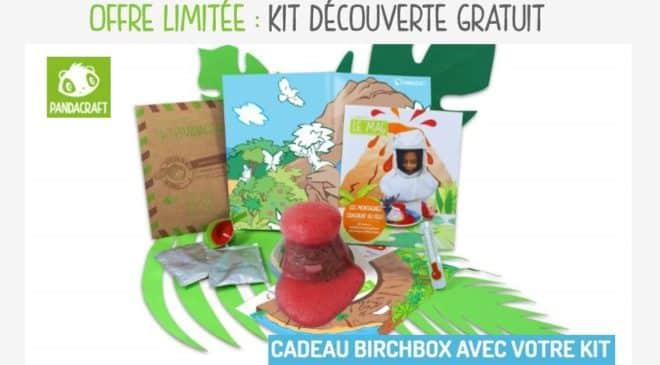 Kit créatif pour enfant gratuite sur Pandacraft