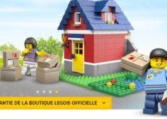 Livraison gratuite sur Lego Store (site officiel) à partir de 20€