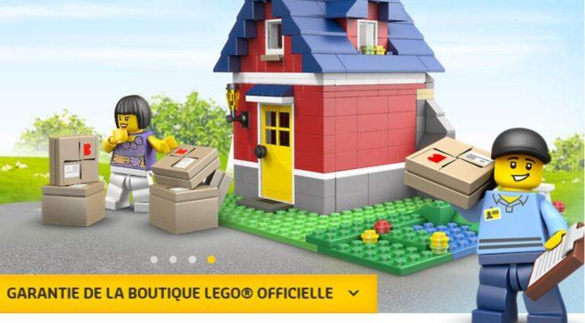 Livraison gratuite sur Lego Store