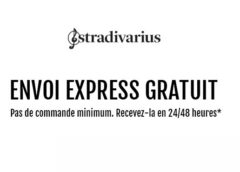 Livraison rapide gratuite sur Stradivarius sans minimum 🚚 (aujourd'hui seulement)