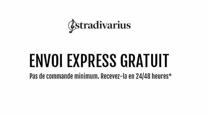 Livraison rapide gratuite sur Stradivarius
