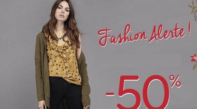Mim Fashion Alerte : 1 acheté = le second à moitié prix