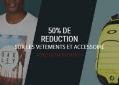 Oakley : vêtements et accessoires à moitié prix + livraison gratuite