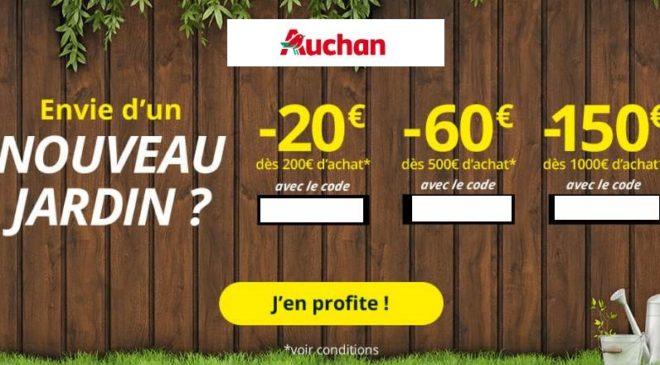 Offre spéciale jardinage Auchan