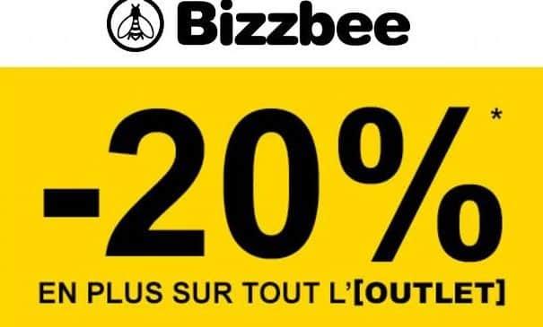 Outlet Bizzbee : 20% supplémentaire dès 2 articles
