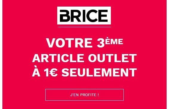 Votre 3ème article soldé à 1€
