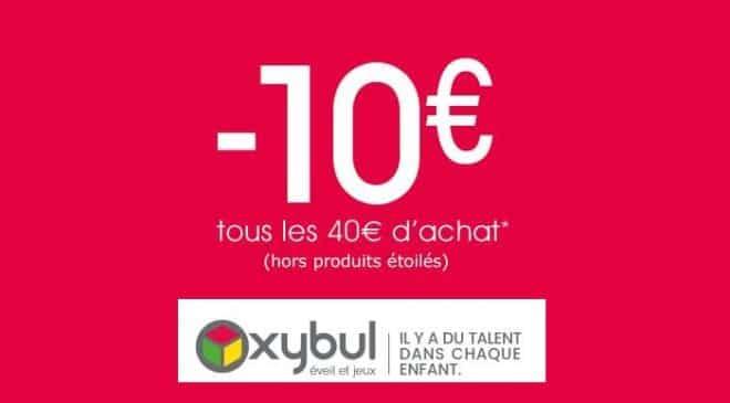 Oxybul 10 euros offerts