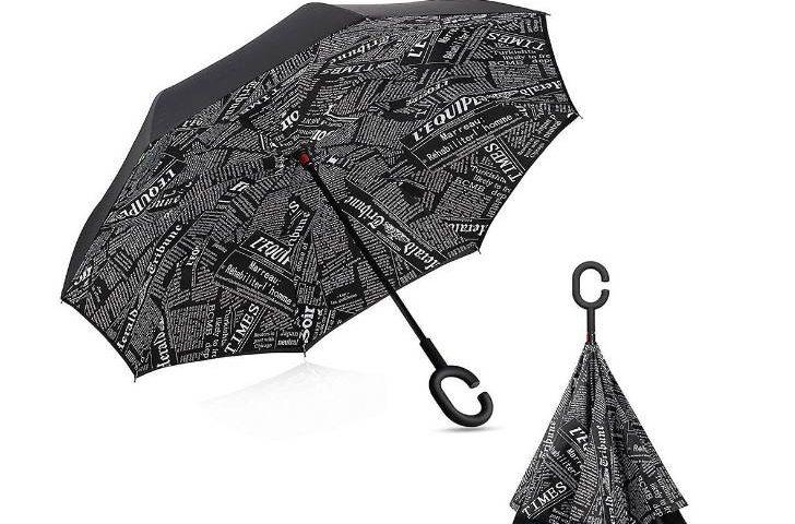 Parapluie ouverture et fermeture automatique à moins de 14€