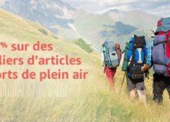 Spécial Plein Air Amazon : -20% sur des milliers d'articles sports, randonné, camping, cyclo.. (Code promo)