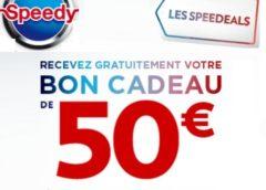 Remise immédiate de 50€ chez Speedy dès 100€ d'achat (entretien, climatisation, frein…)