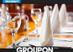 Bars et Restaurants Groupon : -20% sur les offres jusqu'à ce soir 🍴