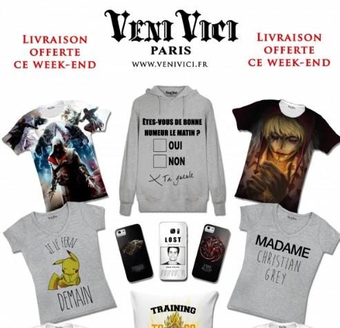 T-shirts originaux et personnalisables