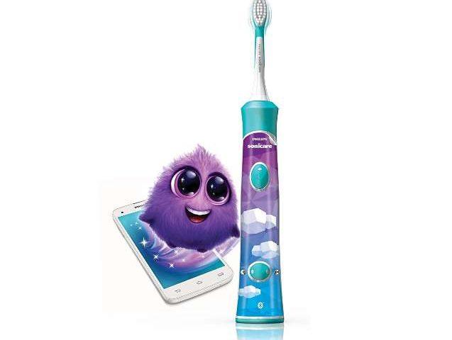 brosse à dents électrique connectée Philips Sonicare for Kids