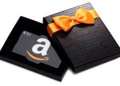 1 carte cadeau Amazon de 60€ offerte = 1 code de 10€ offerts