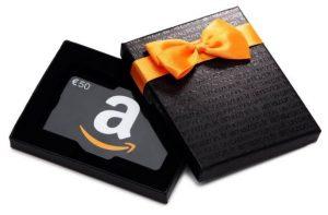 carte cadeau Amazon de 60€ offerte 1 code 10€ offerts