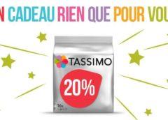 Vos capsules Tassimo moins chères avec le code promo -20%