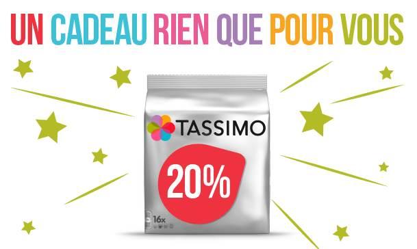 code promo site Tassimo -20%