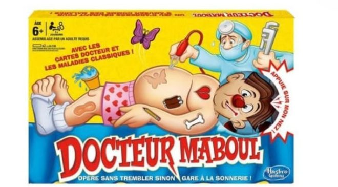 jeu Docteur Maboul de Hasbro moitié prix